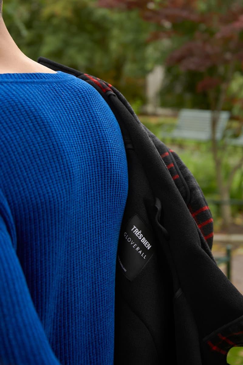 tres bien monty coat fall winter 2020 gloverall classic rework tartan fall winter 2020