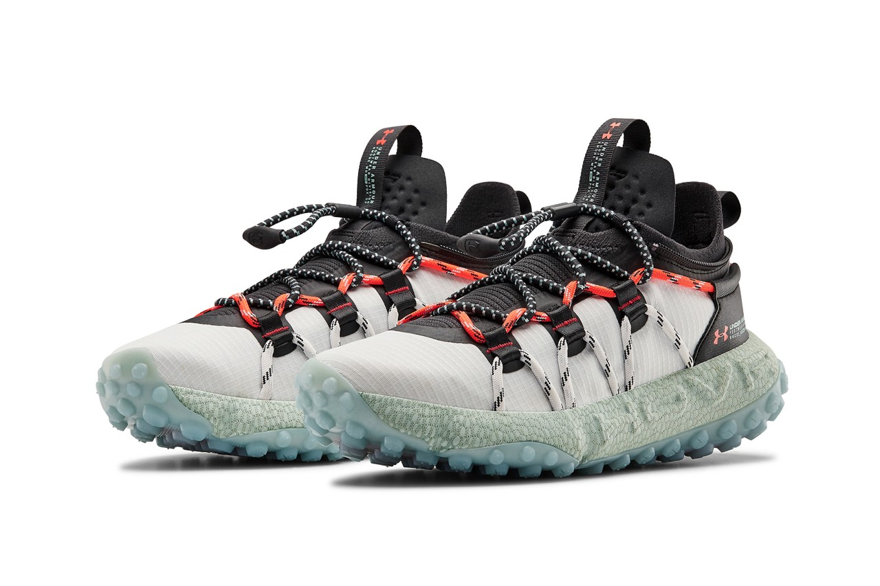 under armour ua hovr michelin summit fat tire hiking shoe sneaker black gray orange green official release date info photos price store list buying guide