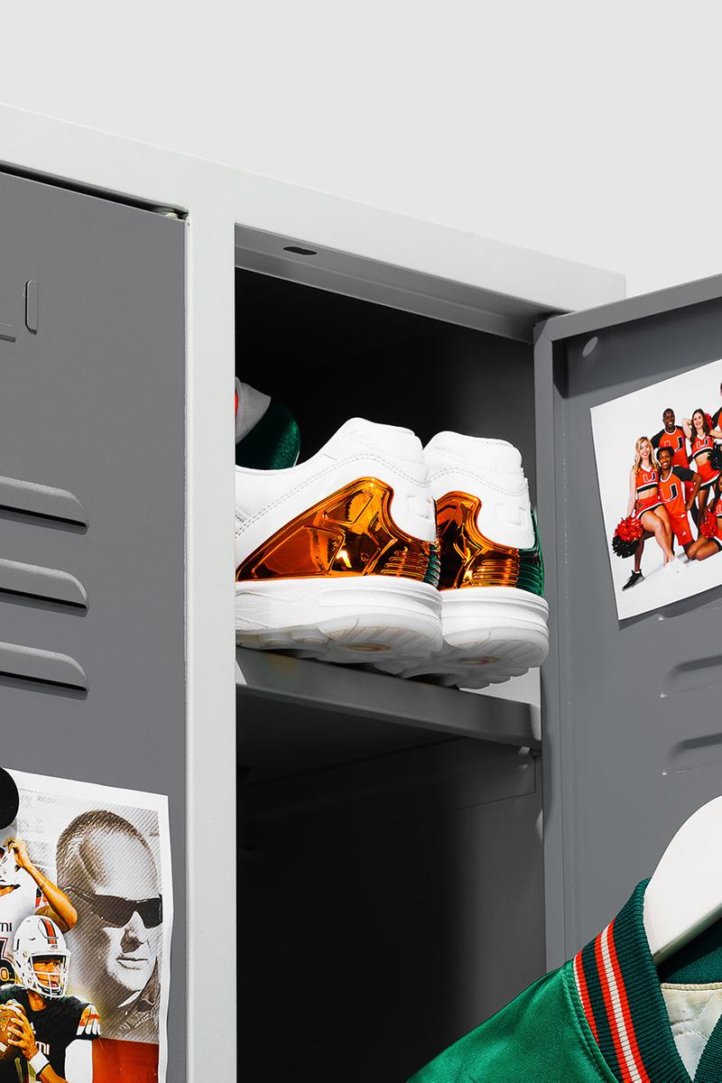 """University of Miami x adidas Originals ZX 5000 """"A-ZX"""" Series Release Information Drop Date Closer First Look Three Stripes Torsion Limited Edition Hurricanes"""