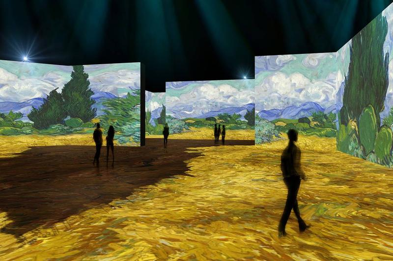 vincent van gogh the lume indianapolis musem of art immersive exhibition