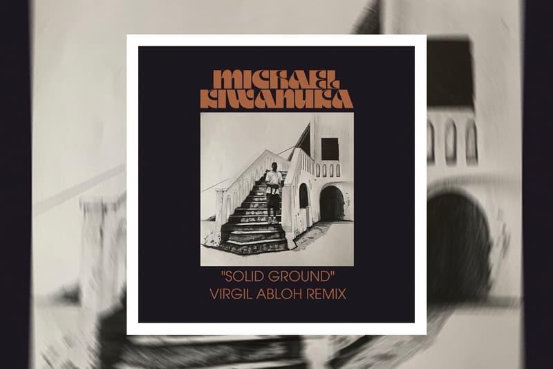 "Virgil Abloh Remix Michael Kiwanuka's ""Solid Ground"" Music DJ Off-White™ Louis Vuitton Fall/Winter 2020 Paris Fashion Week Show 'KIWANUKA'  Mercury Prize"