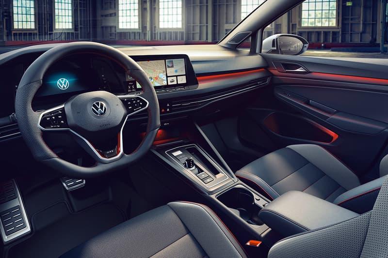 Volkswagen Golf GTI Clubsport Mk 8 Launch Release Information Hot Hatch Nürburgring Germany FWD 296 BHP Four Door DSG Bodykit Closer Look