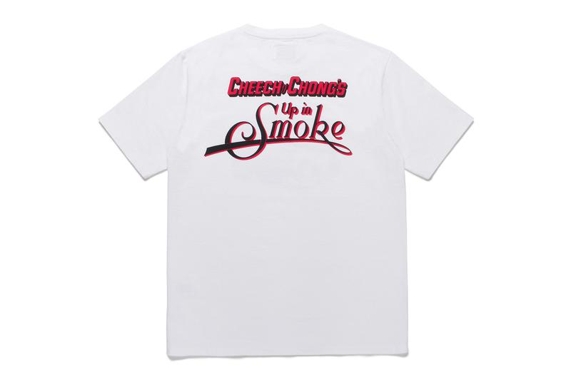 WACKO MARIA Cheech Chong UP IN SMOKE Capsule 1978 film movie tommy chong cheech marin comedy duo stand up collection t shirts sweaters coach jackets