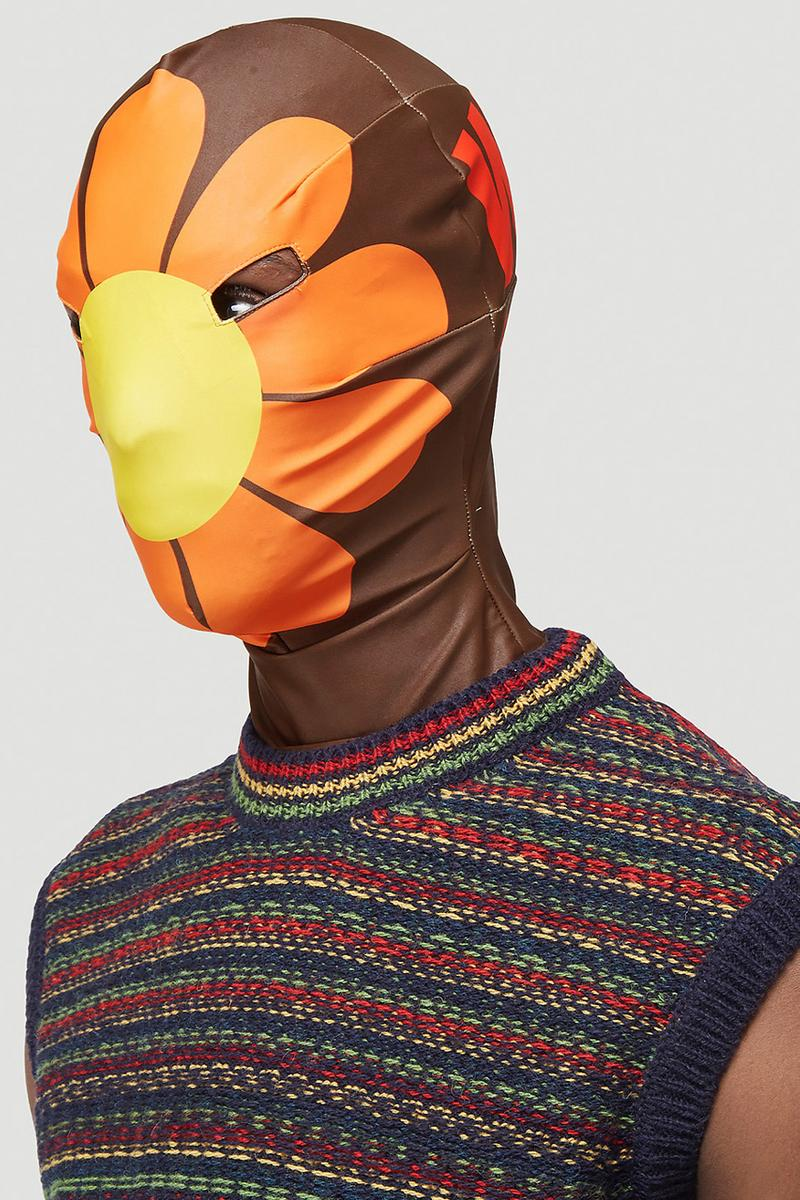 Walter Van Beirendonck save planet earth morph mask nature covid-19 balaclava war Walter about rights release