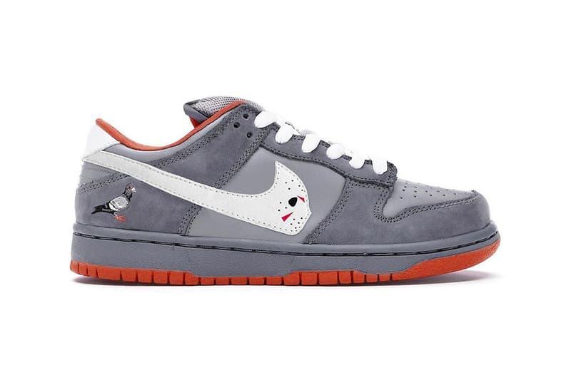 Nike Warren Lotas Fake SB Dunk Low Lawsuit Rip Off Info Jeff Staple Pigeon Stussy cherry Heineken Toxic Green