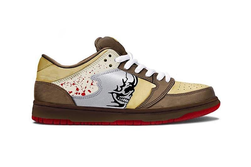 Warren Lotas Reaper Sneaker Chainsaw Release SB Dunk Low Rip-Off Lawsuit