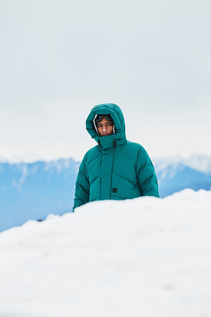 Woolrich outdoor label Goldwin fall winter 2020 collection release information debut Japanese design outerwear