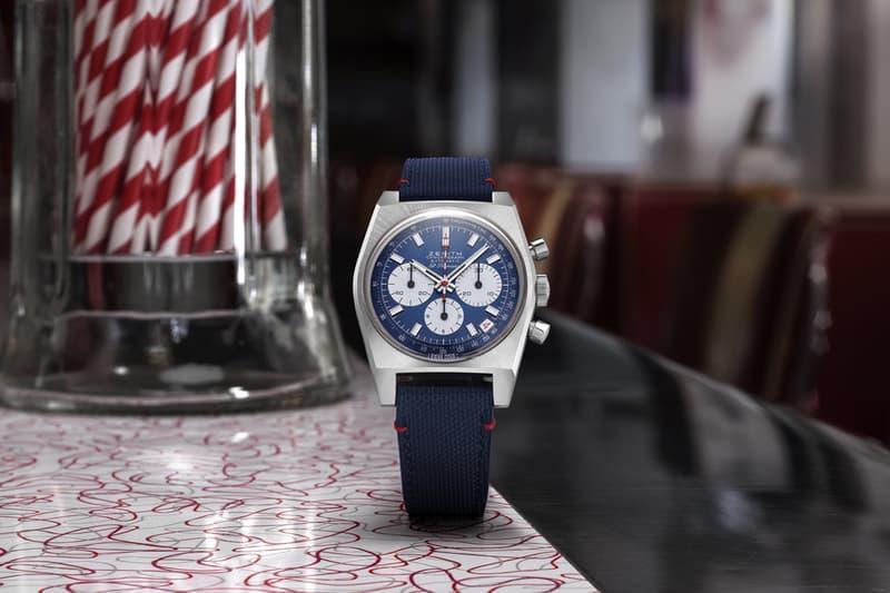 zenith chronomaster revival liberty north america exclusive limited edition watches a384 el primero