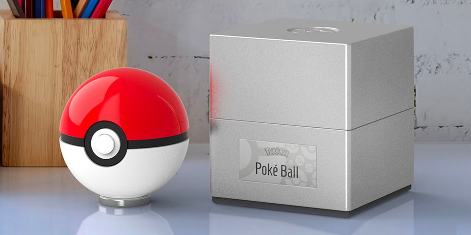 You Probably Shouldn't Throw This $100 USD Official Die-Cast Poké Ball - HYPEBEAST