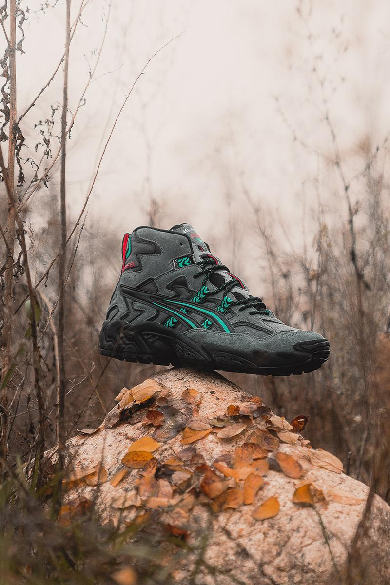 Asics fall winter 2020 winterised pack release information gel-lyte III GEL-QUANTUM 180 5 GEL-NANDI HI outdoor boots