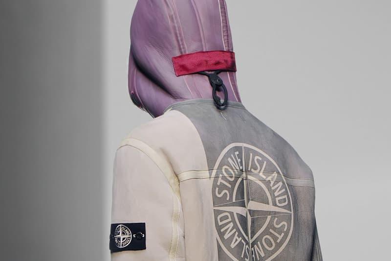 stone island sheepskin jacket release fall winter