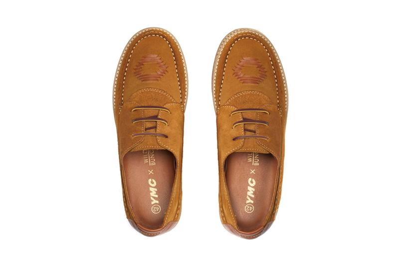 YMC wild bunch soller fall winter 2020 FW20 release information moccasin tan colorway