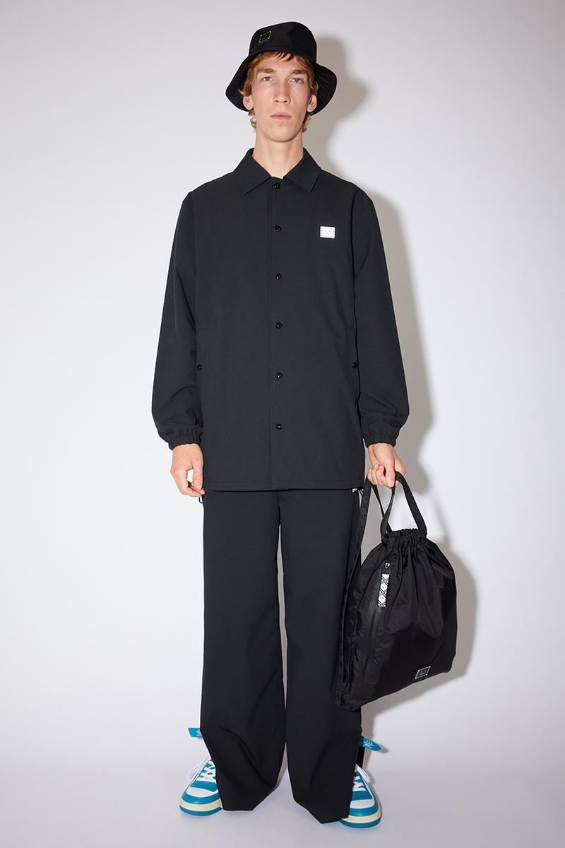 acne studios face collection spring summer 2021 release information lookbook
