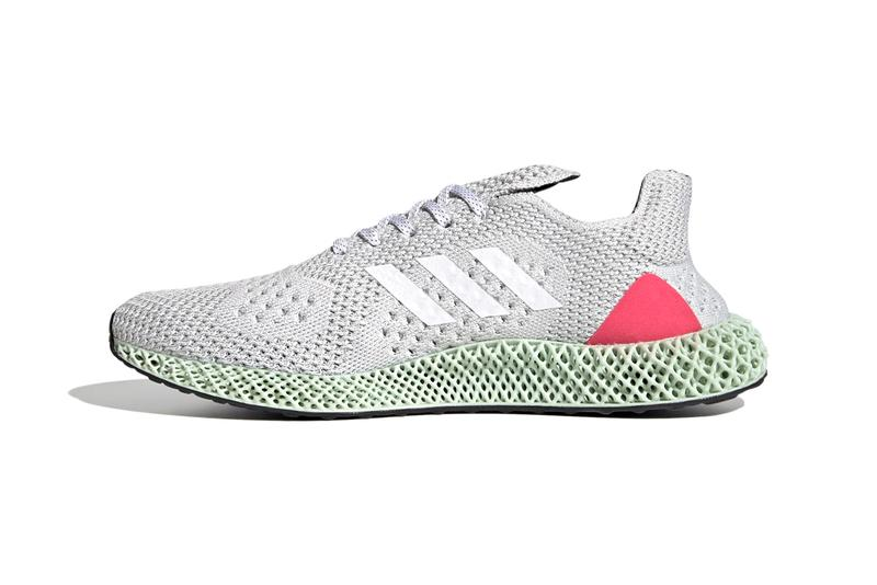 adidas Originals 4D Runner adidas Energy Concepts 190C AEC FY7916 Crystal White / Cloud White / Super Pink Four Dimensional Sole Unit Release Information Drop Date Closer First Look Future