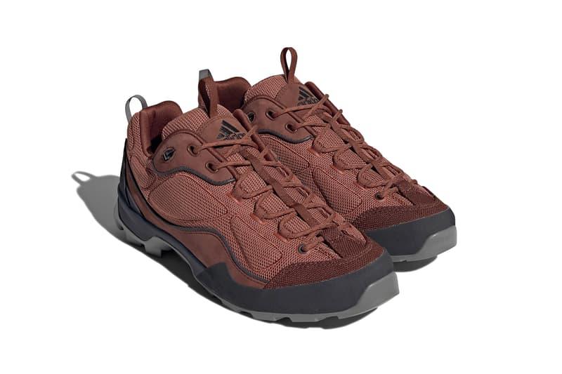 "adidas Originals Sahale X ""Gray/Black"" FZ2328 Dark Red Consortium Three Stripes EQT adiPRENE 3M 1990s Outdoor Hiking Trail Climbing Terrain Shoe Footwear Sneaker Drop Date Closer First Look Release Information"