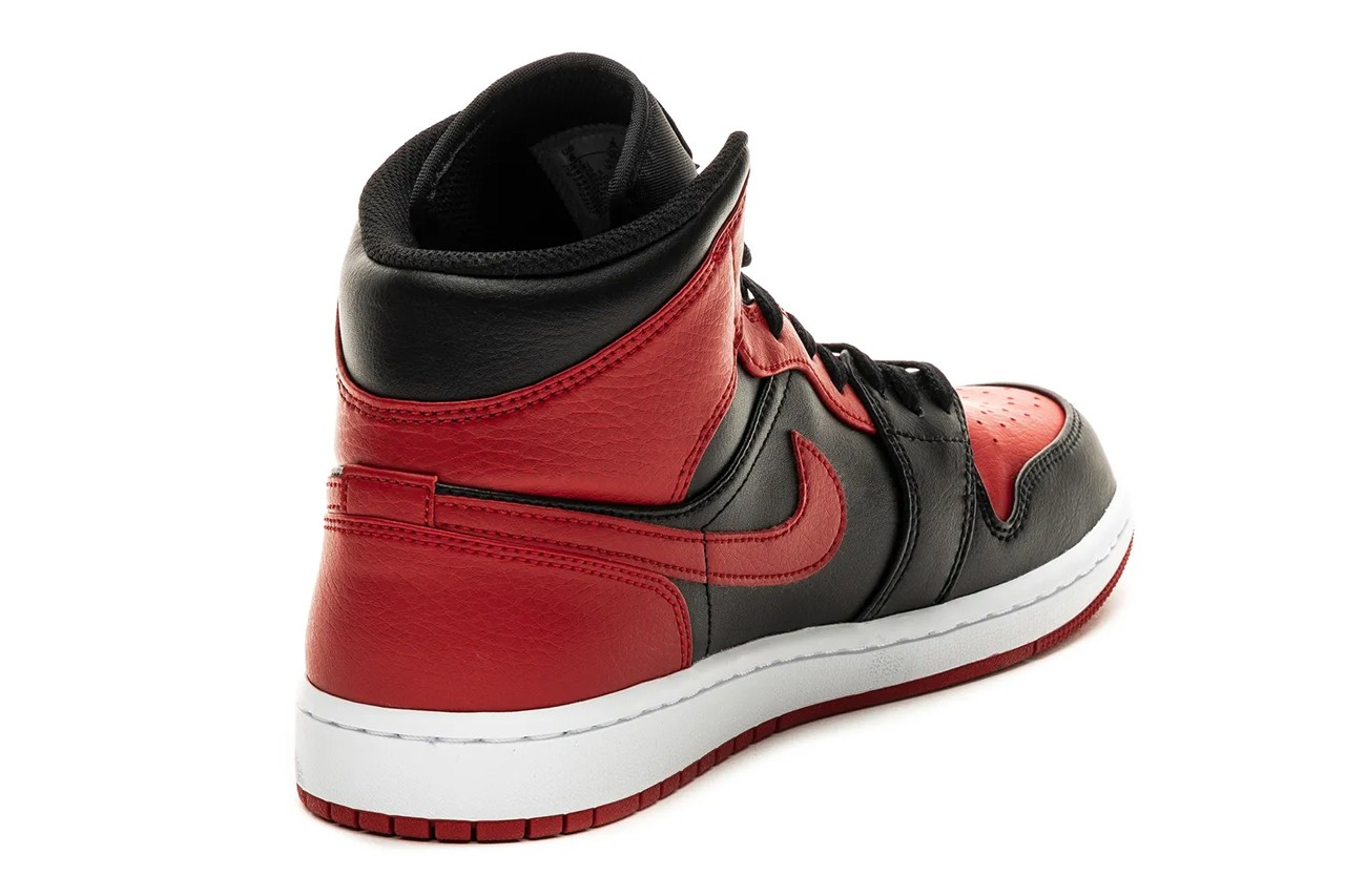 air jordan brand 1 mid banned bred black gym red white 554724 074 official release date info photos price store list buying guide