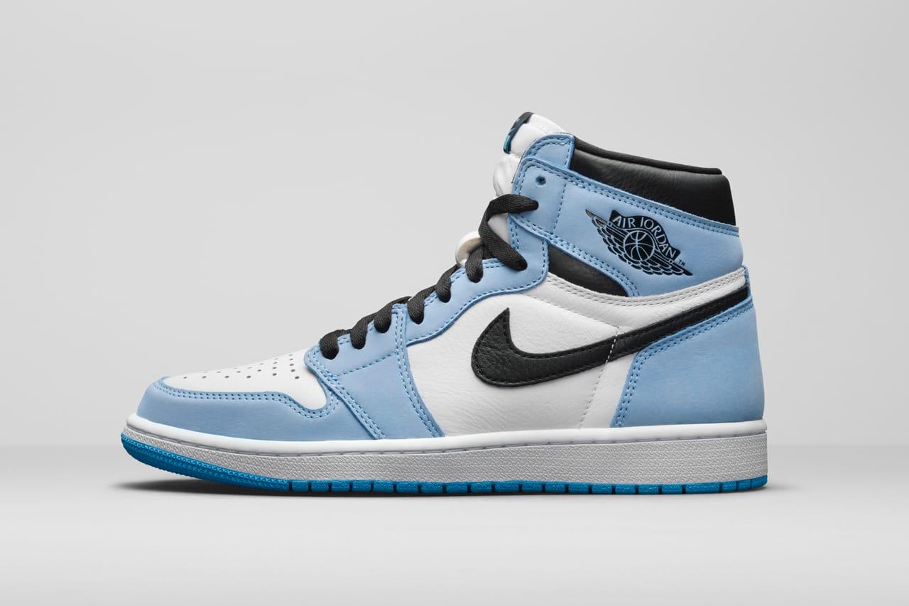 blue air jordan 1s