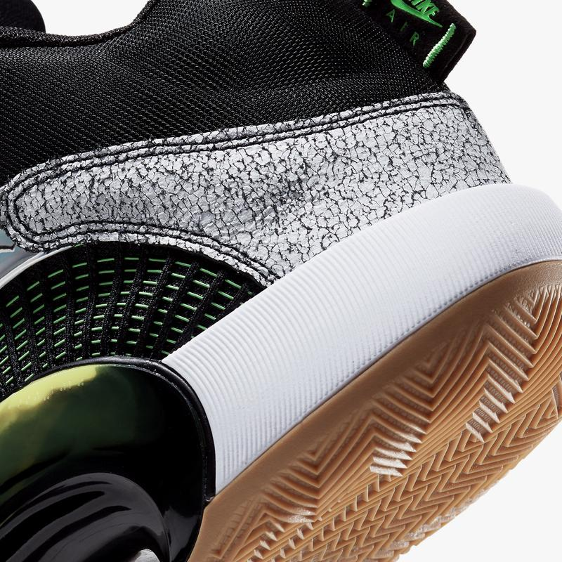 air jordan 35 bayou boys zion williamson white black green gum official release date info photos price store list buying guide