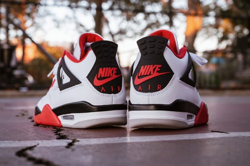 """Detailed Look at the Air Jordan 4 """"Fire Red"""""""