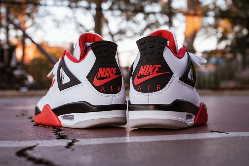 air jordan brand 4 fire red white black tech grey dc7770 160 where to buying guide official release date info photos price closer look raffle