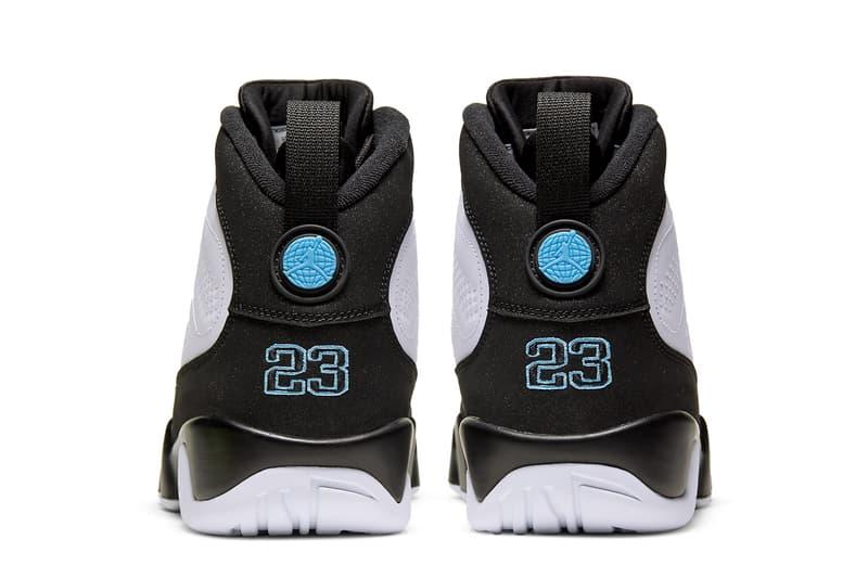 air jordan brand 9 university blue white black ct8019 140 unc carolina tar heels official release date info photos price store list buying guide