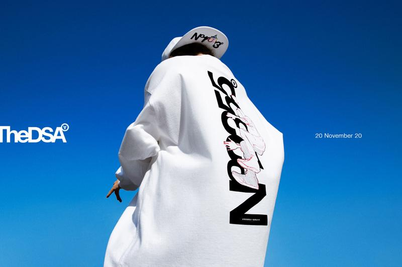 thedsa the dsa daily sketch archives aitor throup sketchbook launch capsule collection series 1 one streetwear