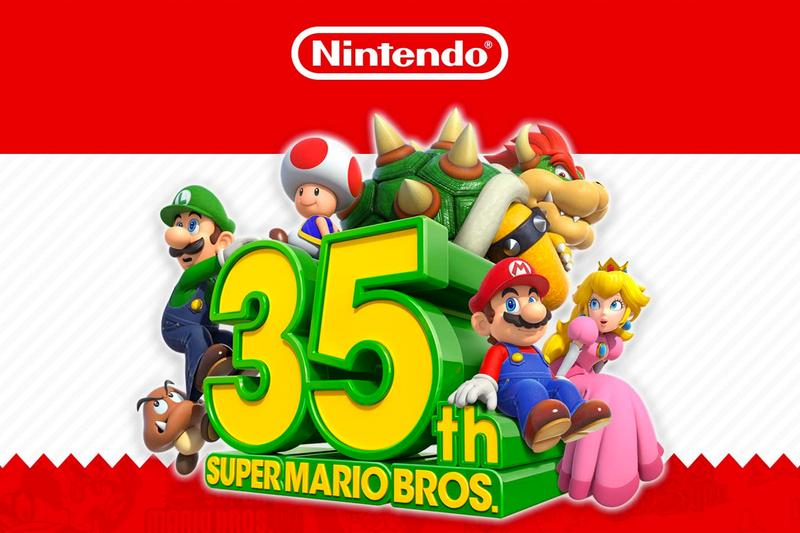 amazon super mario bros nintendo 35th anniversary celebrations limited edition packaging boxes delivery