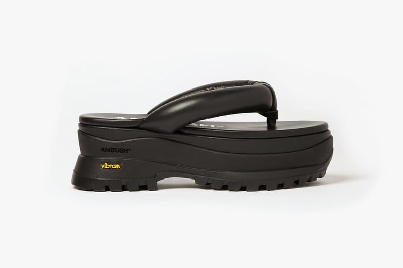 AMBUSH GETA Sandals Release Info yoon ahn footwear traditional japanese slippers