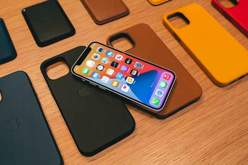Apple iPhone 12 Studio Launch MagSafe Case Wallet Customization info