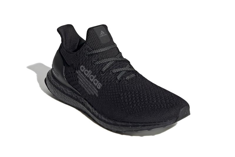 """atmos x adidas UltraBOOST DNA """"Core Black/Night Metallic"""" H05022 """"Core Black/Cloud White"""" Japan UB Tokyo Sneaker Boutique Collaboration Drop Date Release Information Closer First Look Triple Black Trainers"""