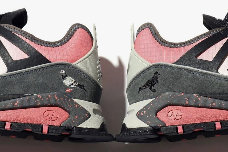 atmos x Staple x New Balance X-Racer Hirofumi Kojima Director Japan Teaser Image Three Way Collaboration Footwear Closer First Look Pigeon