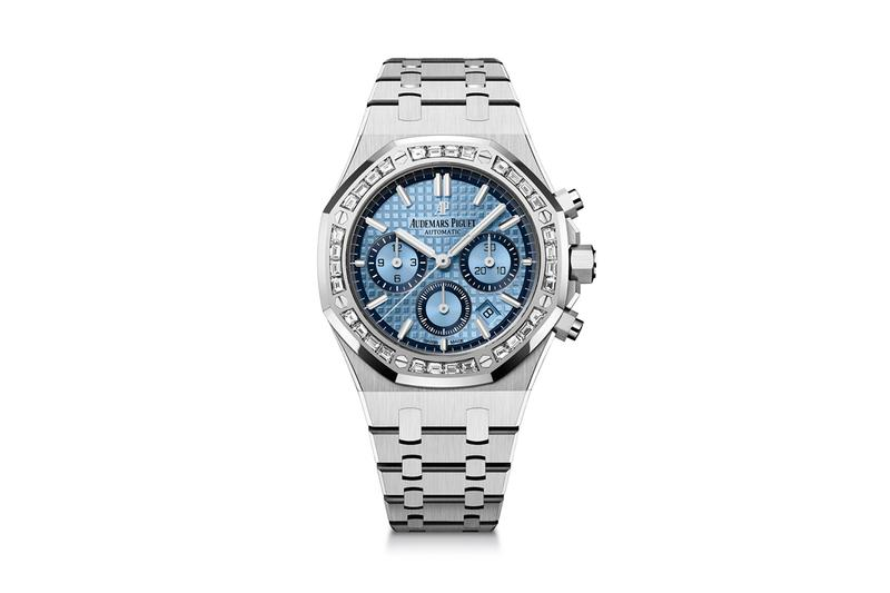 audemars piguet 18k white gold royal oak chronograph hong kong special edition watches luxury swiss