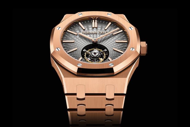 Audemars Piguet Introduces Its First-Ever Selfwinding Flying Tourbillon Royal Oak 26522TI 26530ST luxury AP Swiss watch Le Brassus