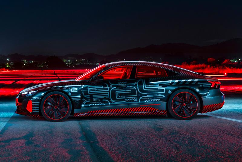 Audi RS e-Tron GT Electric Car Confirmed Official First Look German Automotive News EV Porsche Taycan Turbo Tesla Model S Four Rings 4WD Quattro 637 HP Power Speed Performance Figures Handling Battery Charge Miles