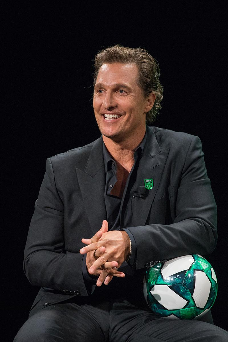 Austin FC Matthew McConaughey MLS Soccer Texas United States football new team interview