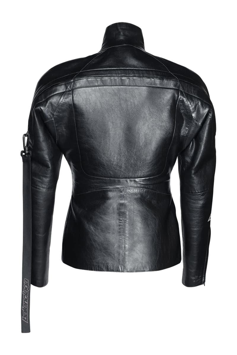 Balenciaga Shiny Leather Scuba Jacket Fall/Winter 2020 FW20 Runway Show Piece Outerwear Luxury Fashion House Demna Gvasalia Drop Date Release Information Expensive $5800 USD