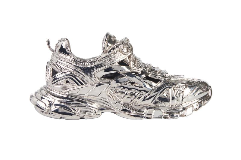 Balenciaga Track.2 Sculpture Release Info Silver Brass