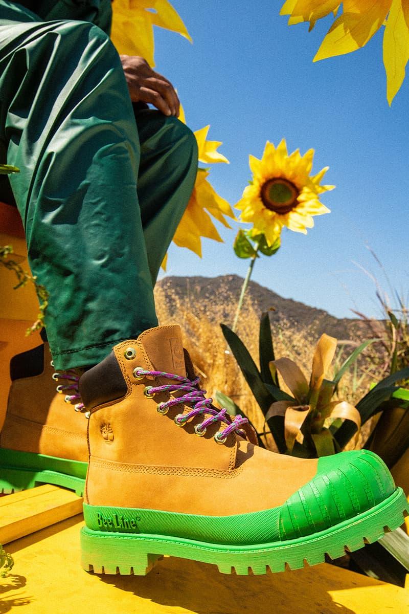 billionaire boys club timberland 6 inch boots multi coloured pharrell Williams fall winter 2020