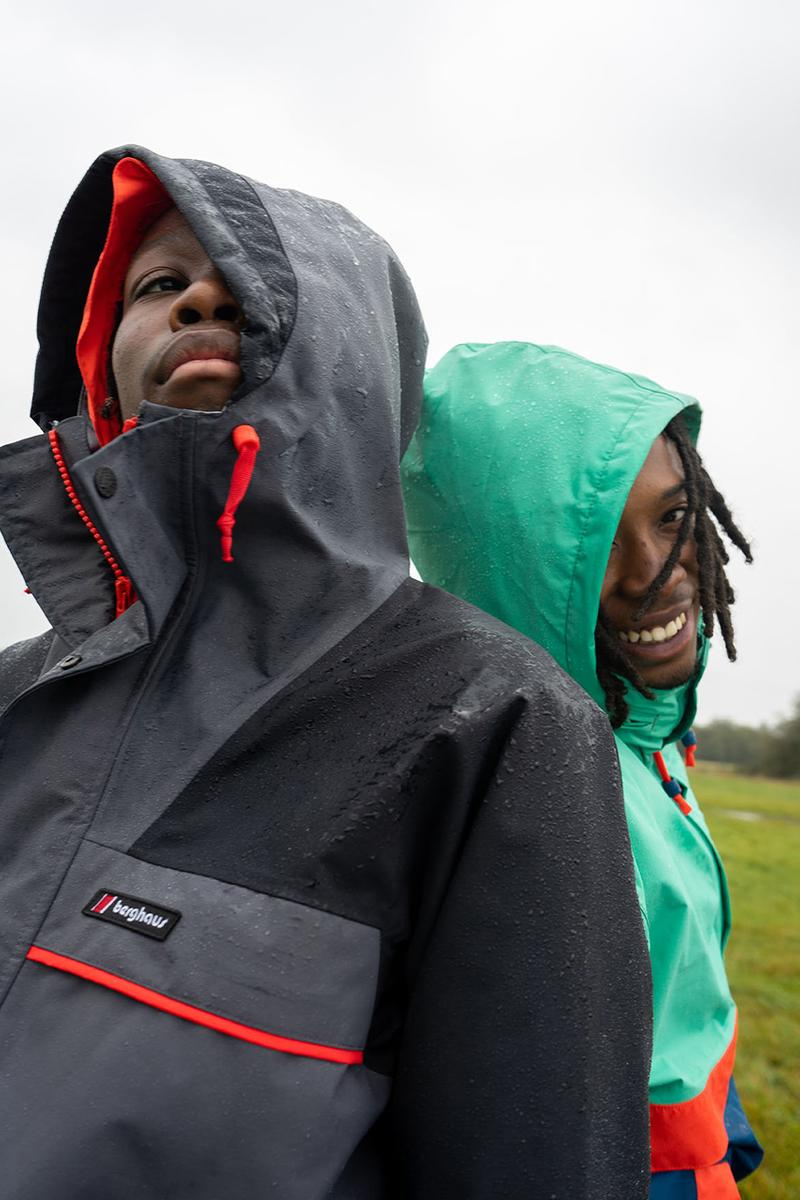 berghaus dean street collection fall winter 2020 flock together shoot where to buy outerwear British when does it drop