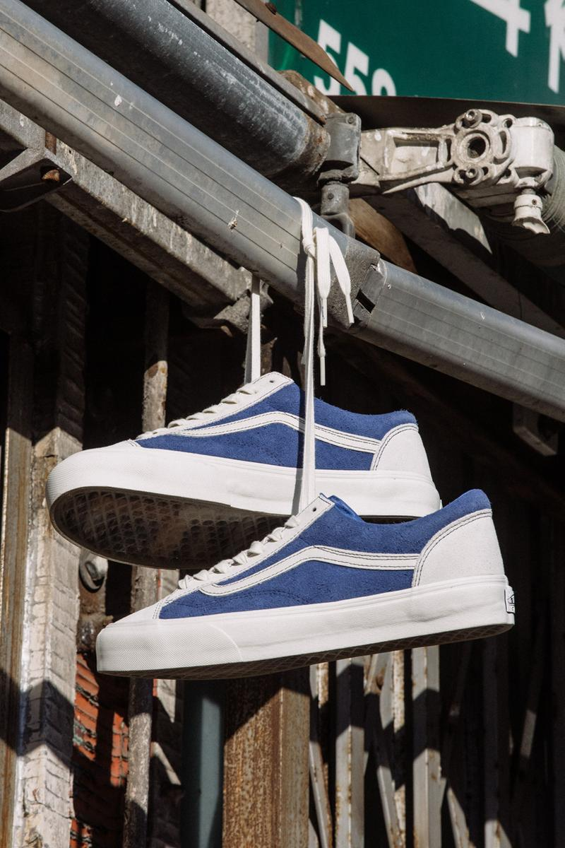 better gift shop vault by vans style 36 half cab blue marshmallow white suede official release date info photos price store list buying guide