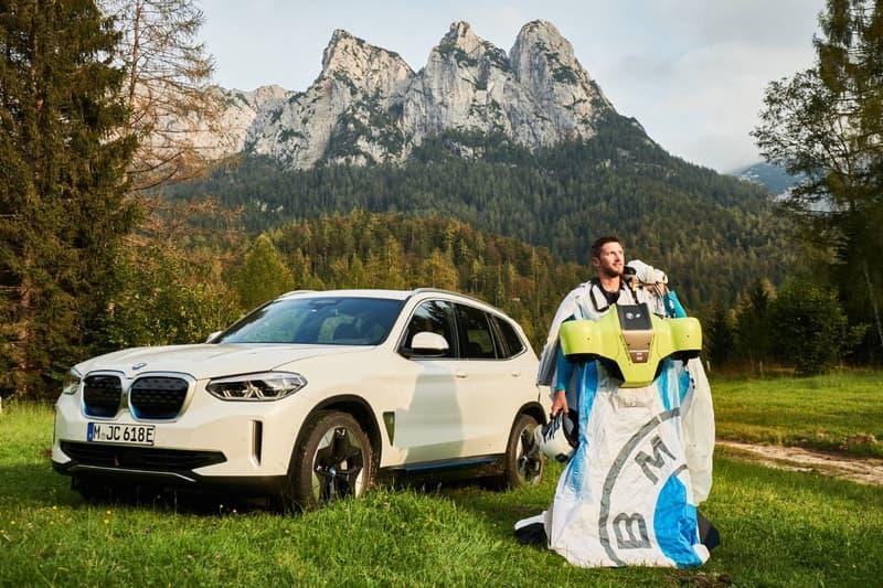 BMW i Electric Wingsuit #NEXTGen 2020 Aerodynamics Testing Center Flying Skydiving Future Superhero Electricity Jets Turbines 20 HP Motor Fly Future Tech