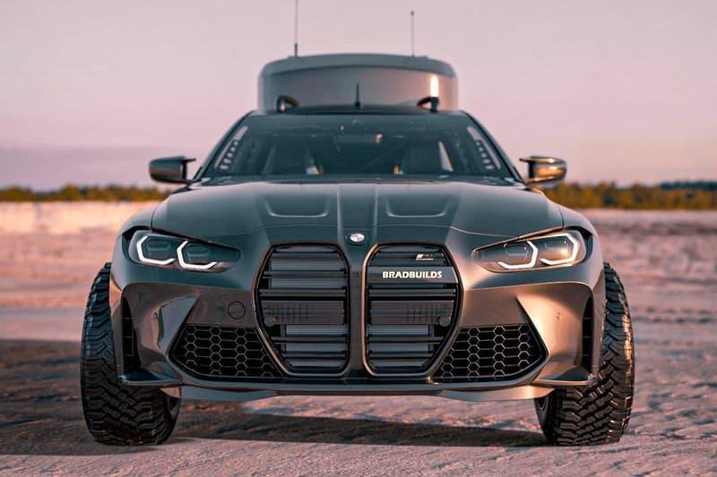 BradBuild Widebody BMW M4 Camper renders 3D Youtube Tesla Model S Off-roading Camper Outdoors BFGoodrich