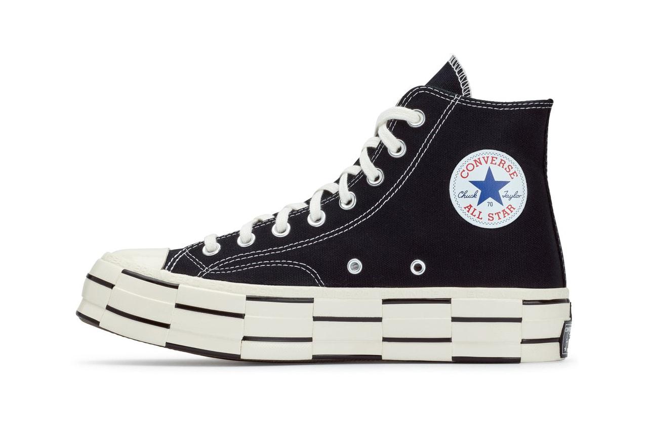 Brain Dead x Converse Chuck 70 Bosey OX Kyle Ng Release Information HBX Closer First Look Drop Date Collaboration Footwear OG Sneaker Shoe Fall Winter 2020 FW20 (169946C) (169947C)