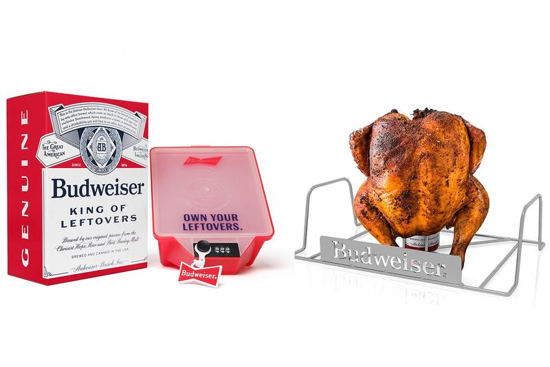 Budweiser Bud Can Turkey King of Leftovers Thanksgiving Buy Price Stand Tupperware
