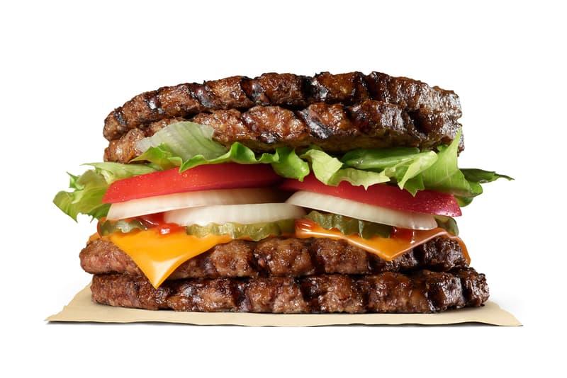 Burger King Japan Extreme Super One Pound Beef Burger maximum patties sandwich bun