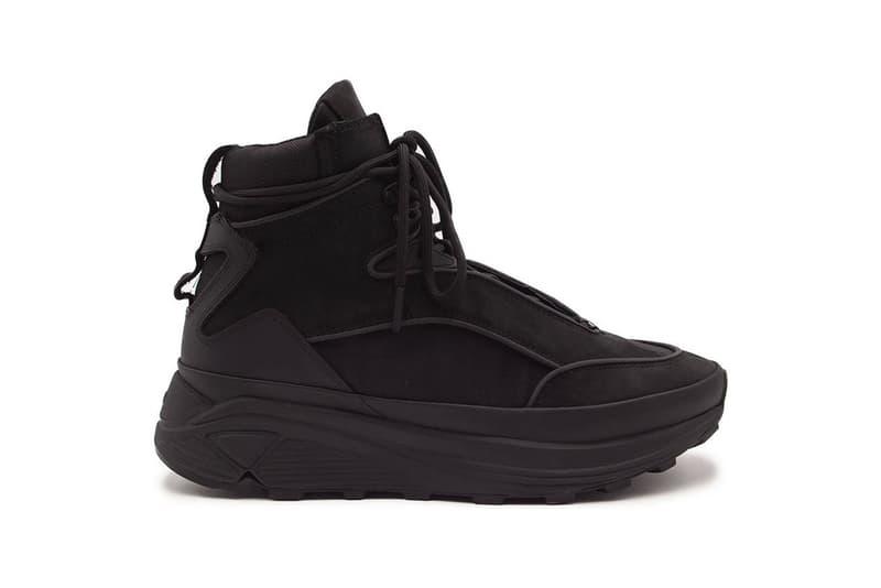 C2H4 Quark Sneaker Atom Sneaker-Boot Hybrid Fall Winter 2020 FW20 UJNG Yixi Chen Shanghai LA Vibram Chunky Shoe Black 3M Detail Release Information Closer Look Drop Date