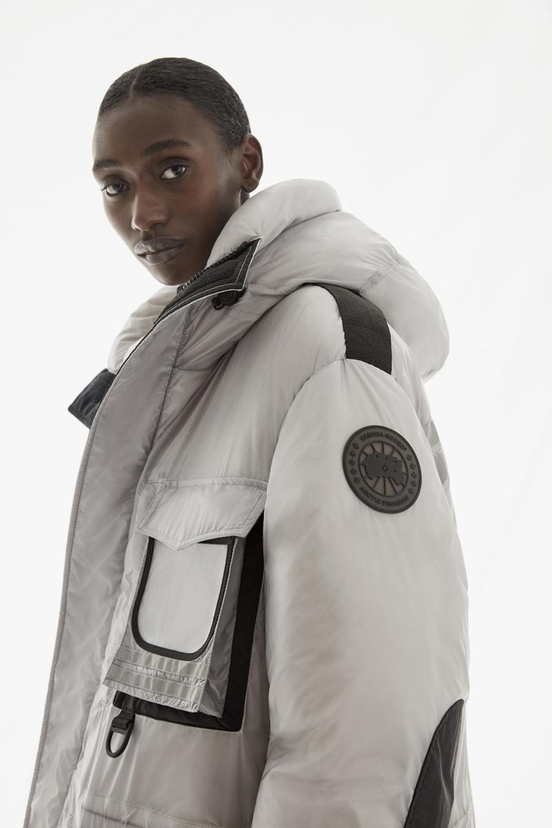 "Canada Goose FW20 ""The Icons"" Collection Lookbook fall winter 2020 mens womens Snow Mantra Parka, Chilliwack Bomber Freestyle Vest outerwear release date info buy stores"