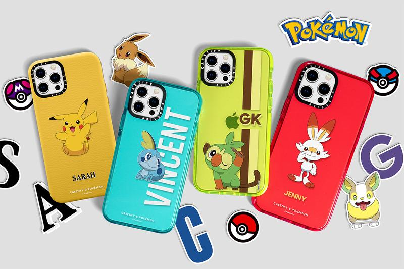 casetify Pokémon iPhone 12 release case collaboration galar region when do they drop where to buy