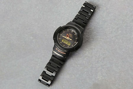 UNITED ARROWS Dresses G-SHOCK AW-500 in Handsome Charcoal Steel