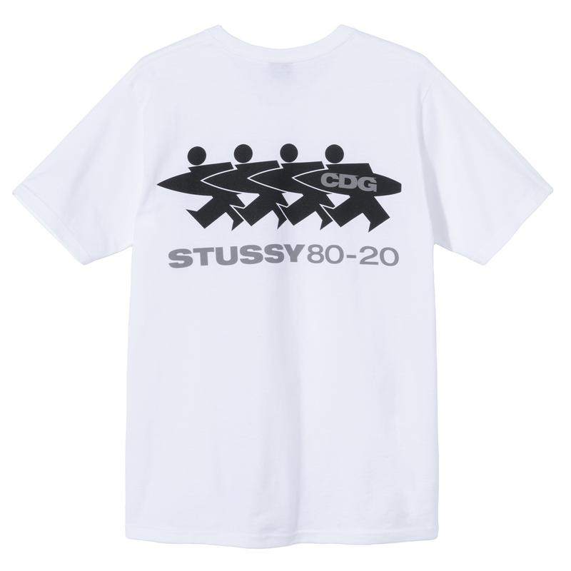 CDG COMME des GARÇONS x Stüssy 40th Anniversary collaboration collection release date info buy november 13 2020 dover street market